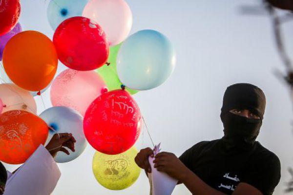 טרור הבלונים נמשך: שריפות נוספות פרצו בעוטף
