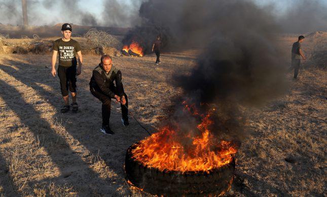 """בעקבות בלוני התבערה: צה""""ל תקף יעדי חמאס"""