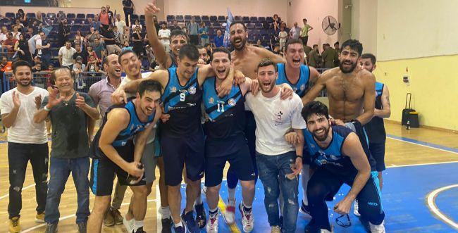 מכבי מעלה אדומים העפילה הערב לליגה הלאומית בכדורסל