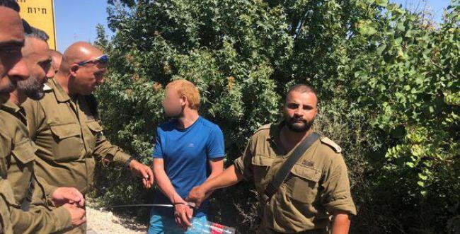 """צה""""ל עצר את שני החשודים שחצו משטח לבנון לישראל"""