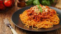 אוכל, מתכונים בשריים ספגטי ברוטב בולונז ללקק את האצבעות   מתכון