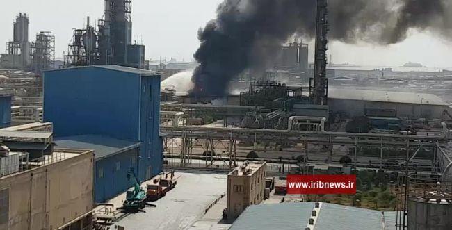 שריפה פרצה במתחם מפעלים בדרום איראן