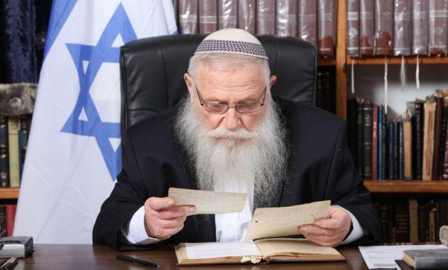 הרב דרוקמן בקריאה לבנט: איננו אזרחים סוג ב'