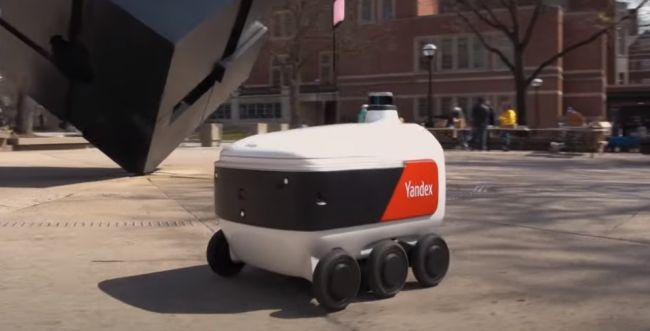 תמיד רצית רובוט שיעשה לך משלוחים? זה כבר לא חלום