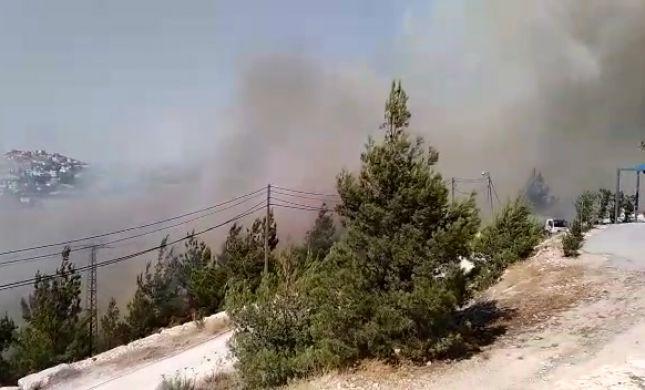 2 שריפות פרצו בירושלים, התושבים פונו מבתיהם