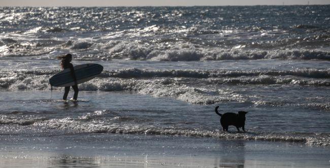נמשכים החיפושים אחרי הצעיר שנכנס לים ונעלם