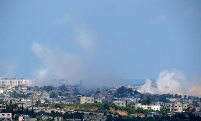 צפו: תקיפת חיל האוויר בתגובה לבלוני התבערה