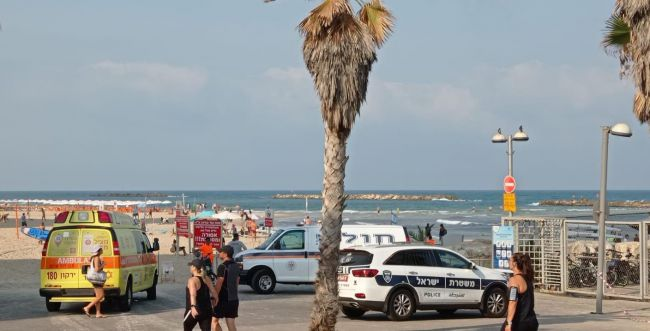 """""""היה לכוד בין הסלעים"""": בן 50 טבע למוות בתל אביב"""