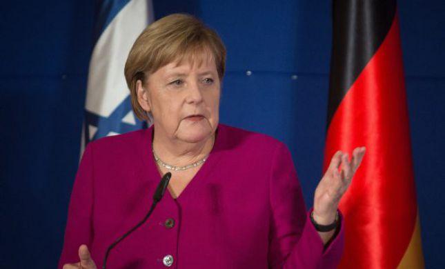 מגרמניה לי-ם: אנגלה מרקל תשתתף בישיבת הממשלה