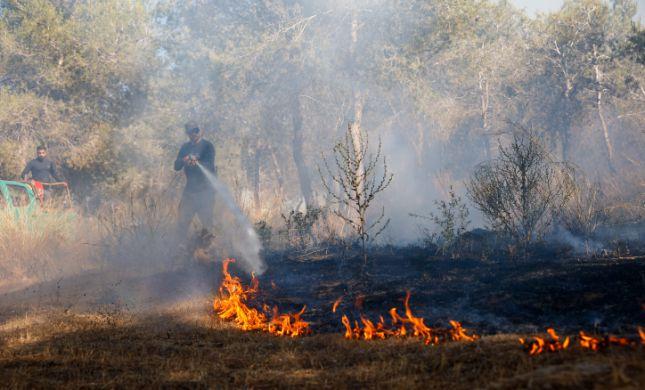 טרור הבלונים חזר: 3 שריפות בעוטף עזה