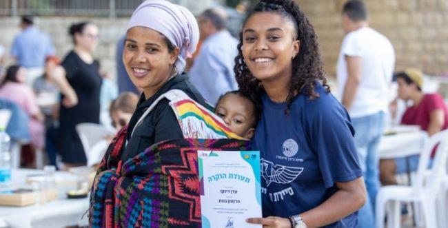 ירושלים: תעודות הערכה לנערים על פעילות חברתית