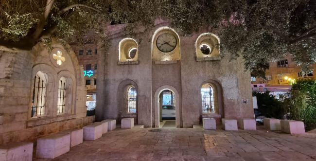 לראות את המבנה העתיק בירושלים באור אחר