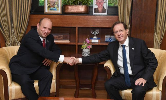 פגישה ראשונה של הנשיא הרצוג וראש הממשלה בנט