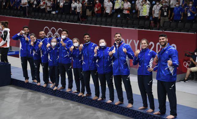 מדליה נוספת: נבחרת הג'ודו זכתה בארד הקבוצתי