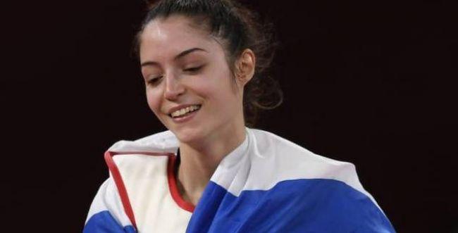 הישג היסטורי: אבישג סמברג זכתה במדליית ארד