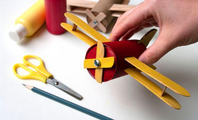 4 דברים להכין עם הילדים מגלילי נייר טואלט | DIY