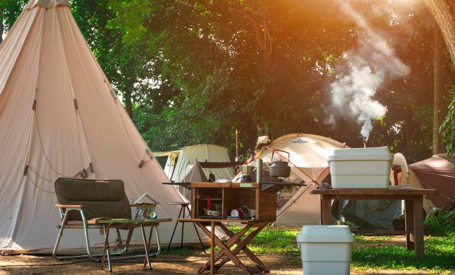 5 מקומות לקמפינג בארץ שאתם חייבים להכיר