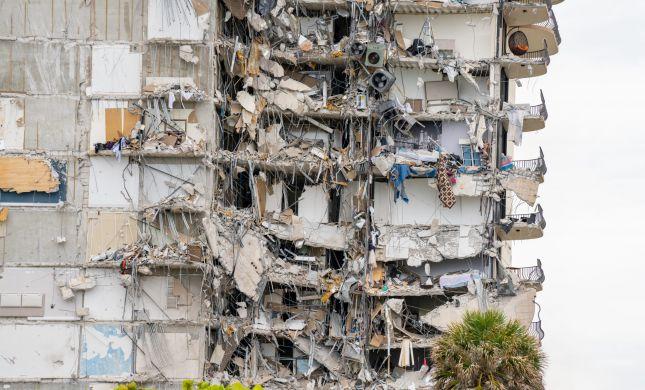 """במיאמי מודים: """"סיכוי אפסי שנמצא עוד ניצולים"""""""