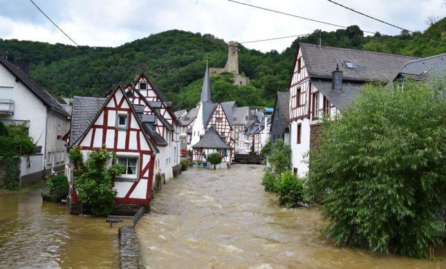 170 הרוגים בשיטפונות באירופה, מאות נעדרים