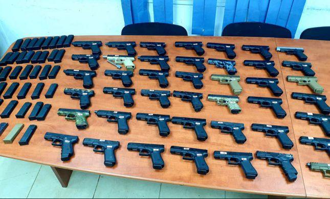 סוכלה הברחת אקדחים בשווי מיליונים מלבנון