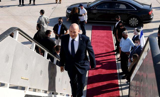 """בנט המריא לארה""""ב: מציע להפסיק באובססיה לישראל"""