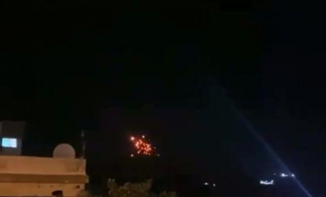 דיווח: ישראל תקפה מוצב בגולן הסורי
