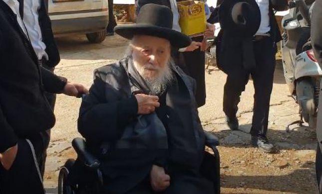 ברוך דיין האמת: רב העיר טבריה נפטר בגיל 86