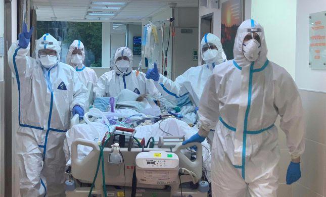 בסורוקה פתחו מחדש את יחידת טיפול נמרץ קורונה