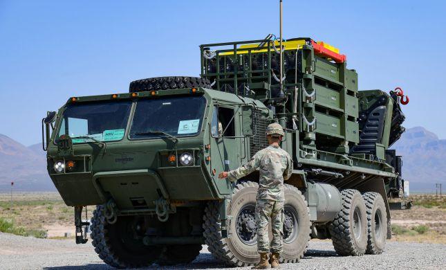 """צפו: ניסוי ראשון של סוללת כיפת ברזל בצבא ארה""""ב"""