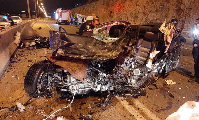 """הרוג בתאונה קשה מאוד בשומרון: """"מראות קשים"""""""