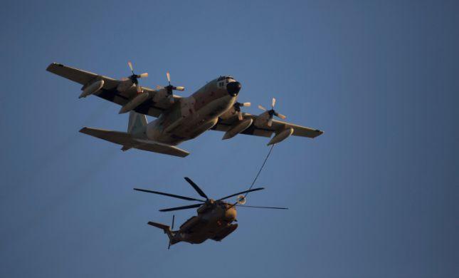 """ה""""סופרטנקר ישראלי"""": ניסוי ראשון בשיתוף חיל האוויר"""
