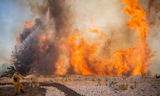 65 הרוגים, בהם 28 חיילים, בשריפות ענק באלג'יריה