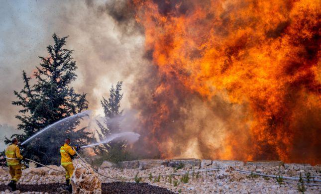 עקב השריפה: בנט קטע את ישיבת הקבינט