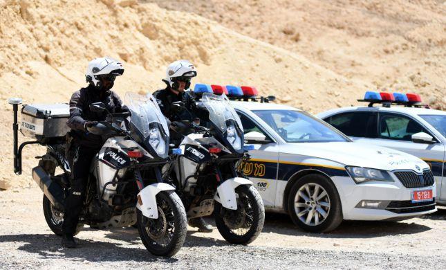 """במהלך הסופ""""ש: פלסטיני נתפס נוהג ב-225 קמ""""ש"""