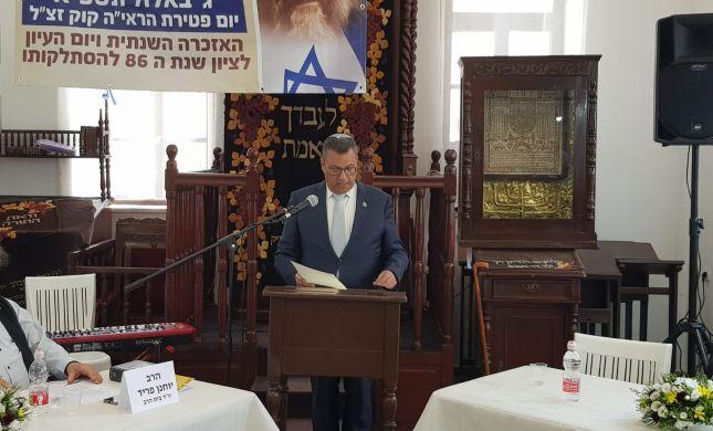 """משה ליאון ספד: """"הרב קוק היה דמות של אחדות"""""""