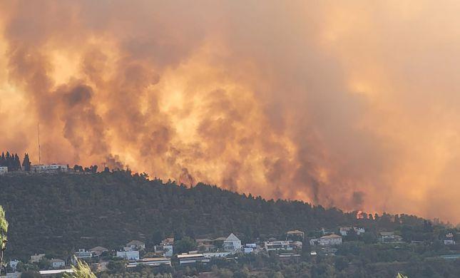 השריפה בי-ם:הנתון שמעלה את החשד להצתה מכוונת