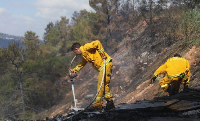 נאבקים בלהבות: במרבית הגזרות הגיעו להכלה של האש