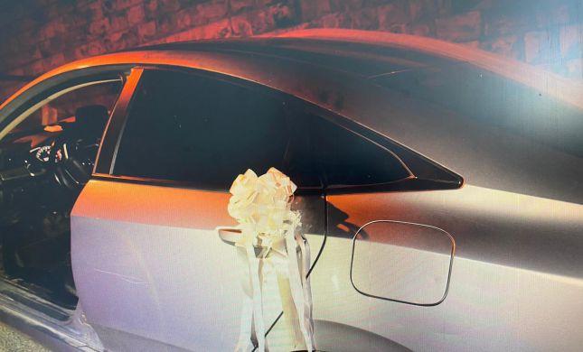 בזמן החתונה: פרצו לאוטו ונעצרו
