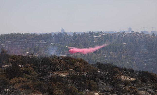 """השריפה בירושלים: """"לא להגיע לכבישים החסומים"""""""