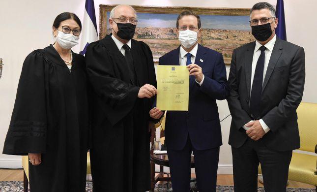 השופט הנדל הושבע כמשנה לנשיאת העליון