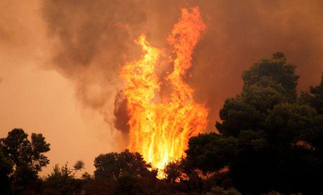 משלחת ישראלית תצא לסייע בכיבוי השריפות ביוון