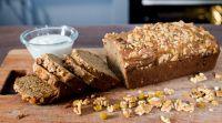 אוכל, מתכונים חלביים מתכון בריאות מנצח: לחם בננה מועשר בחלבון