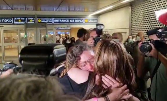 """הודיה מונסנגו נחתה בישראל: """"לא אטוס לעולם"""""""