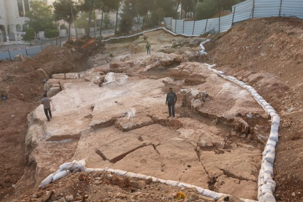 מחצבה מבית שני נחשפה בהר חוצבים בירושלים