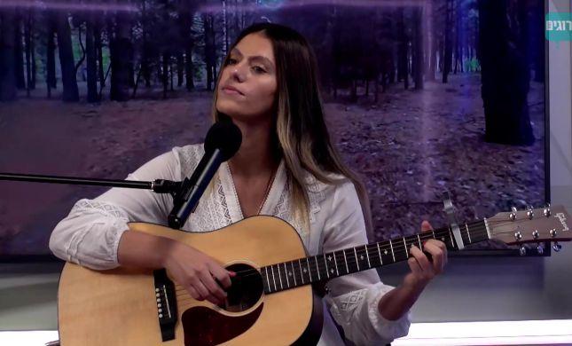 """אודיה באולפן: """"אנשים מתחזקים דרך השירים שלי"""""""