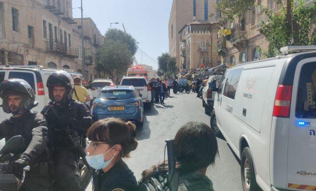 שני פצועים בפיגוע דקירה בתחנה המרכזית בירושלים
