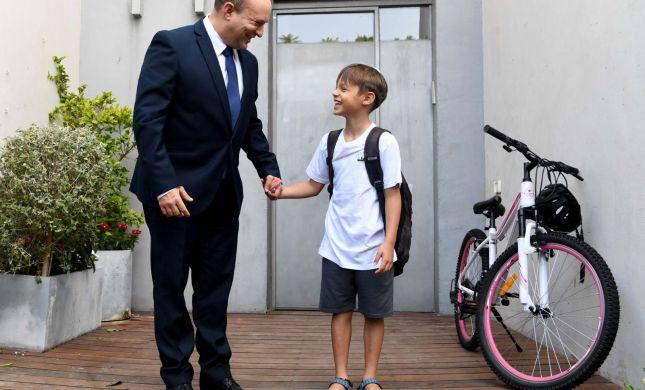 הפוליטיקאים נזכרים ביום הראשון ללימודים