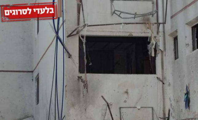 """באשדוד חוששים: """"הבניין עומד לקרוס; השאלה מתי"""""""