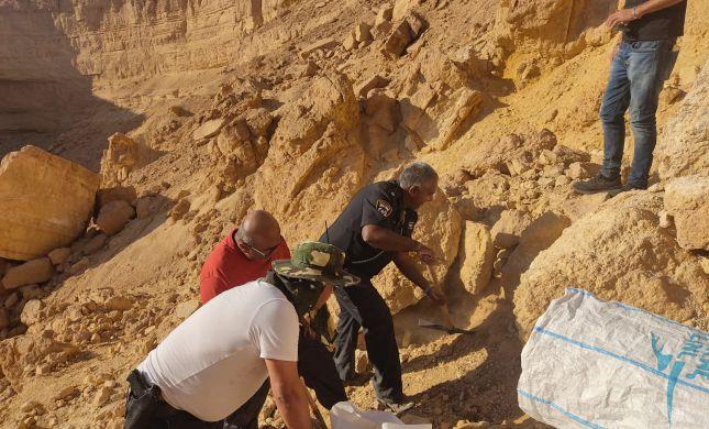 מטיילים מצאו גופת אדם בנגב