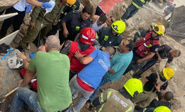 שישה פצועים מקריסת קיר בכפר כנא